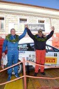 Podio Rally dei Nuraghi e del Vermentino 2013